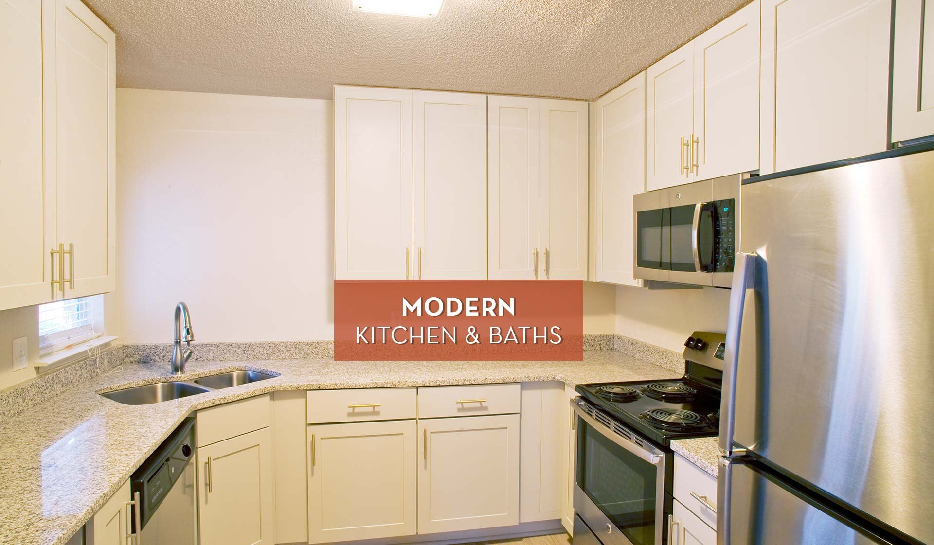 Hillmeade Apartments - Modern Kitchen