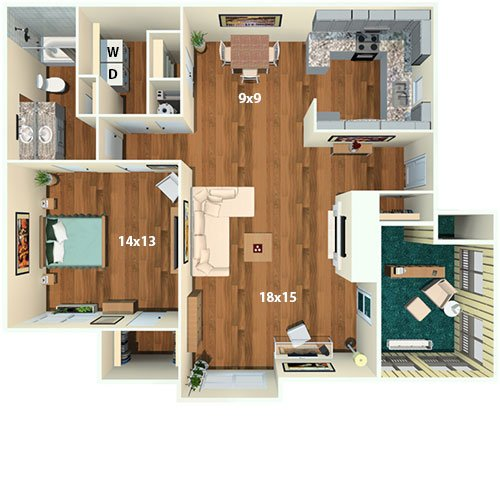 One Bedroom Apartments Nashville Tn